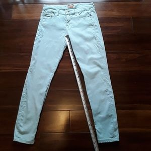 MOTHER The Looker Heaven sent sage Skinny Jeans
